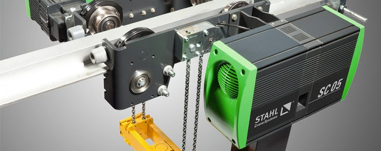 crane hoist Chain hoists from STAHL Crane systems