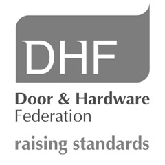DHF logo door and hardware federation