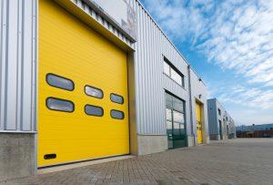 yellow Industrial Door Maintenance 2