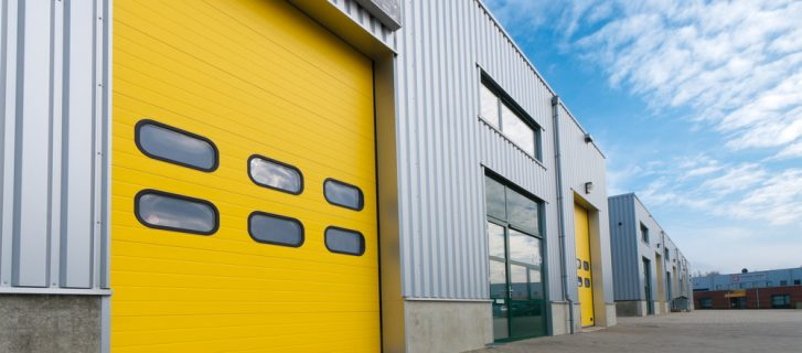 yellow Industrial Door Maintenance 2