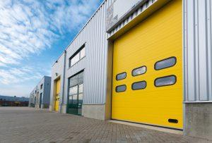 yellow Industrial Door Maintenance
