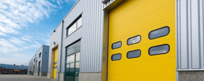 yellow Industrial Door Maintenance