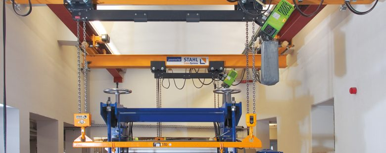 Stahl Dual Hook Chain Hoist