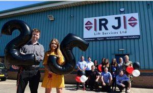 RJ lift 25 year anniversary