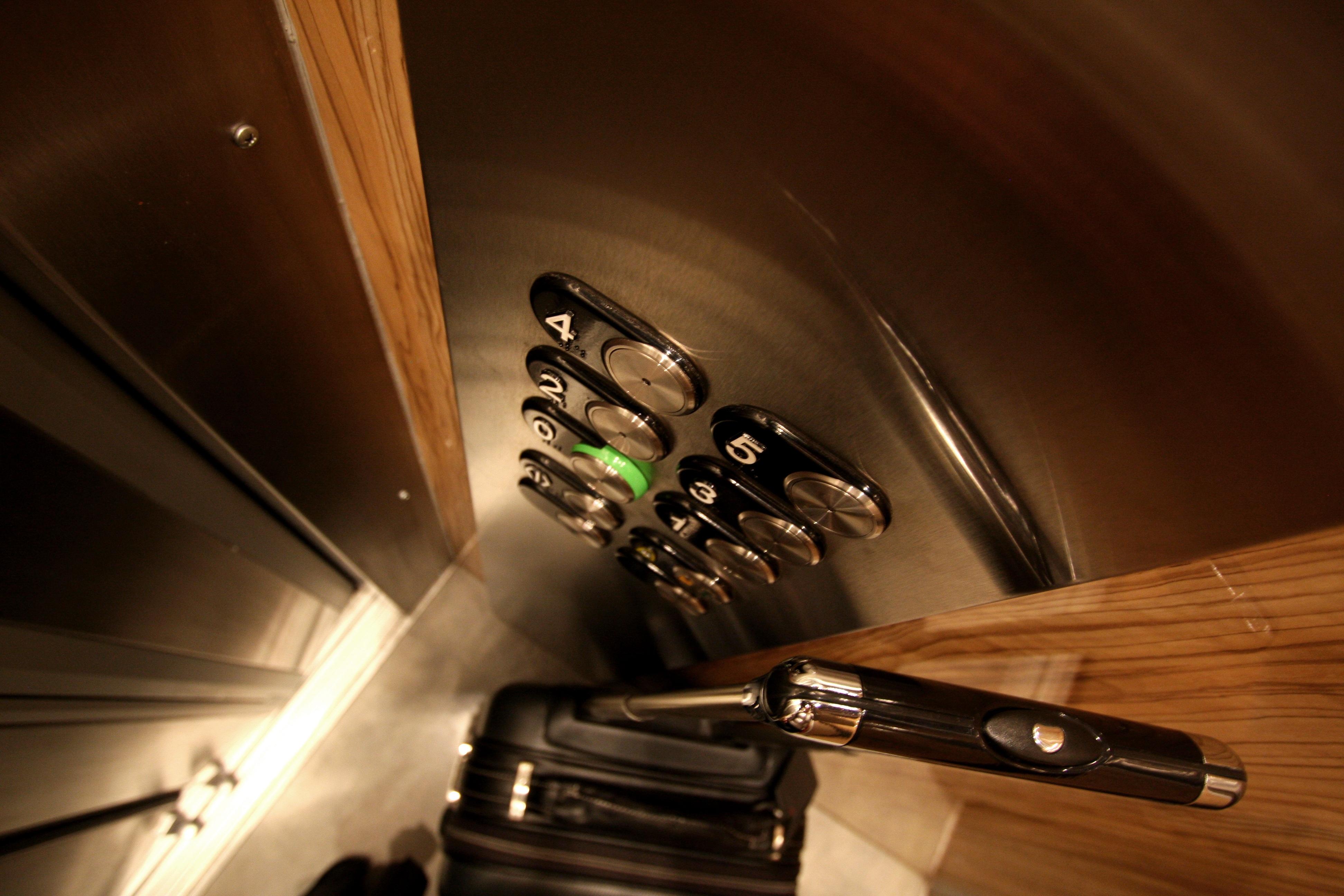 lift interiors refurbishment