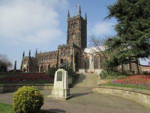 landmark church cathedral place Wolverhampton