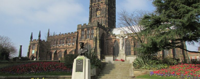 landmark church cathedral place Wolverhampton
