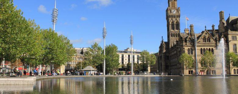 Bradford city Hall in City Park