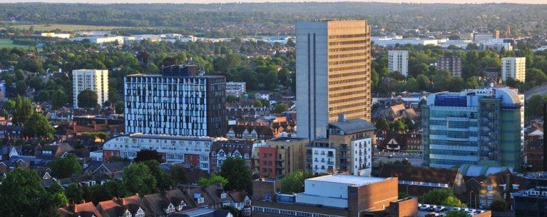 view of London Borough of Croydon