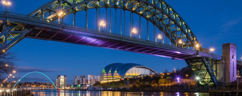 Tyne Bridge Newcastle, England
