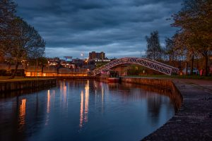 bridge at Etruria, Stoke-on-Trent
