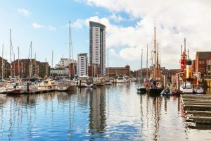 Swansea Marina, beautiful photo