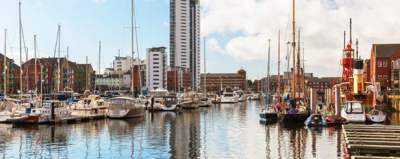 Swansea Marina, beautiful photo