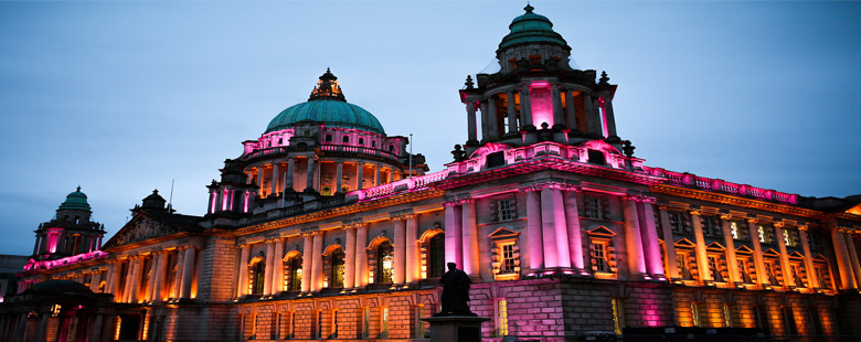 Belfast City Hall in the capital of Northern Ireland