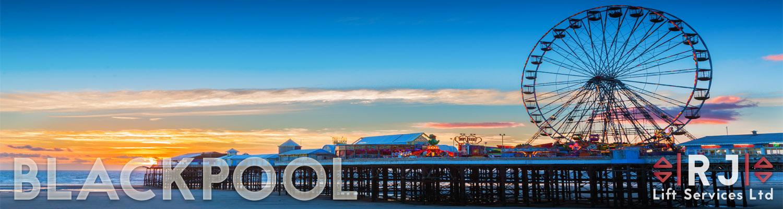 Blackpool Central Pier Ferris Wheel, Lancashire