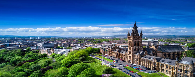 A view over Glasgow
