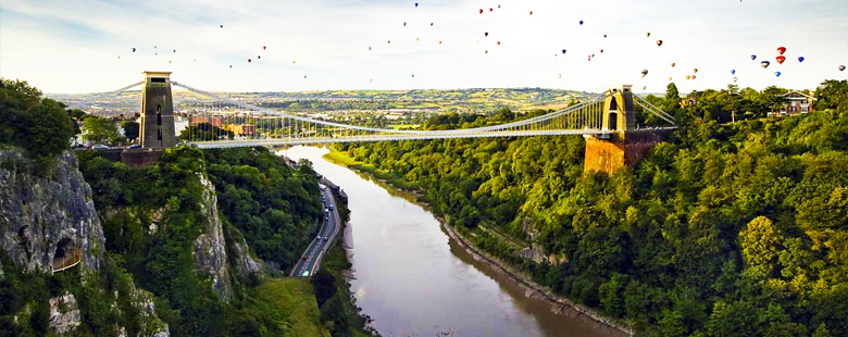 View of the bridge at Bristol