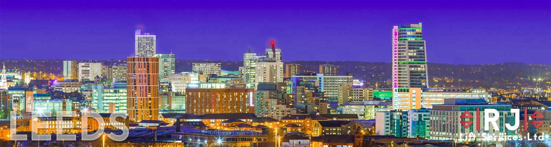 Leeds city sky line