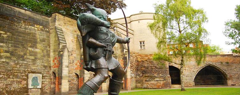 Nottingham Robin Hood Statue