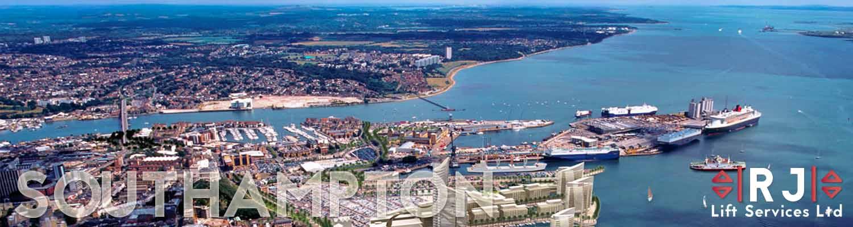 Southampton aerial view