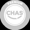 CHAS premium logo