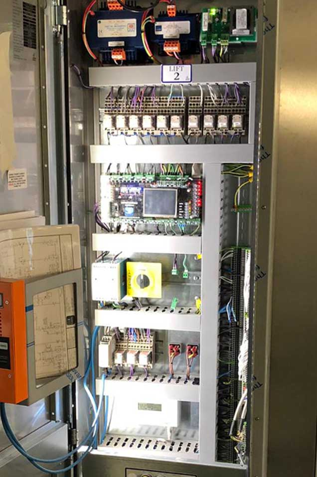 Lift Control Panel - RJ Lifts