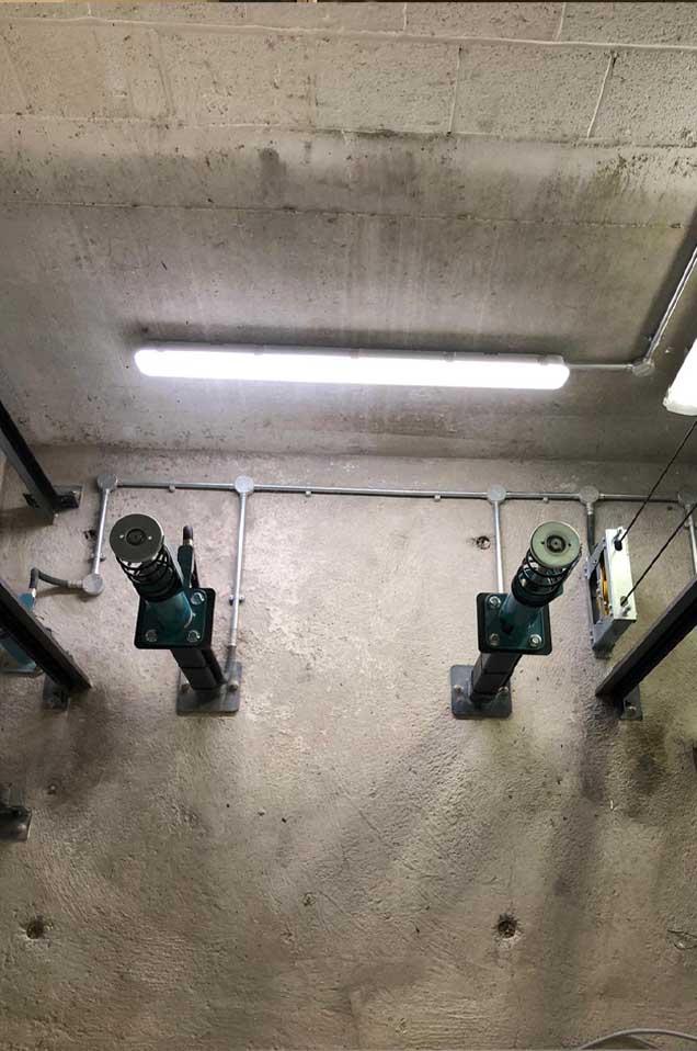 Lift shaft - RJ Lifts