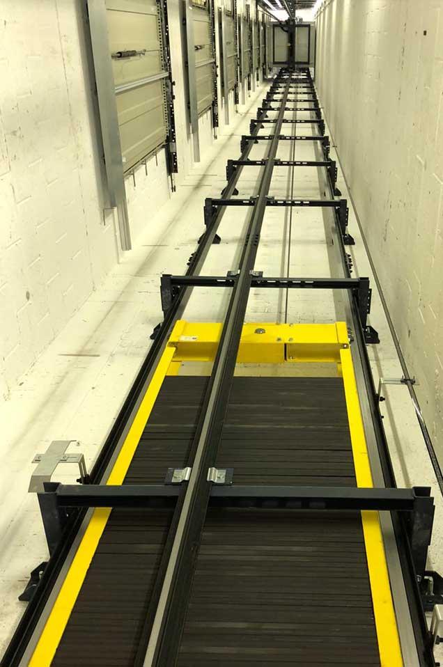 Lift shaft counterweights- RJ Lifts