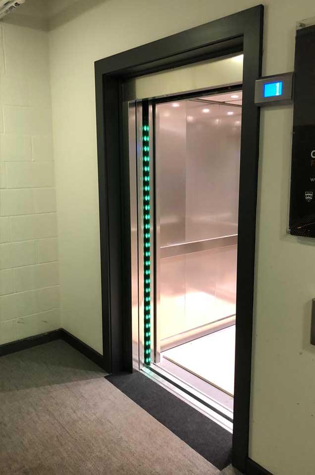 Open Lift Doors - RJ Lifts